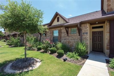 College Station Condo/Townhouse For Sale: 411 Momma Bear Drive