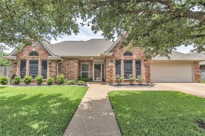 College Station Single Family Home For Sale: 1501 Concord Circle