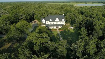 Burleson County Single Family Home For Sale: 14979 County Road 274 County Road