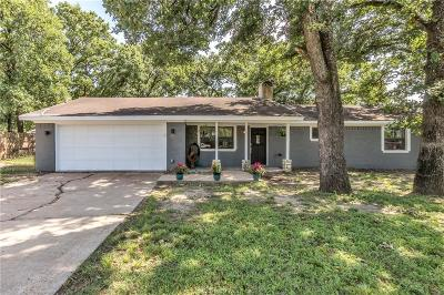 Brazos County Single Family Home For Sale: 4416 Old Hearne Rd