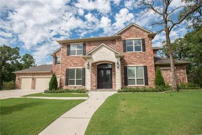 Brazos County Single Family Home For Sale: 5204 Flint Hills Drive