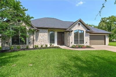 Brazos County Single Family Home For Sale: 1623 Mariners Cove