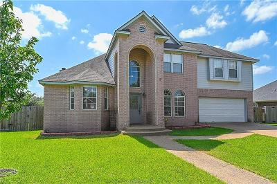 Brazos County Single Family Home For Sale: 4706 Tiffany Park Circle