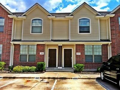 College Station Condo/Townhouse For Sale: 1000 Spring Loop #1304
