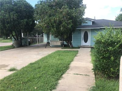 Brazos County Single Family Home For Sale: 2001 Orman Street