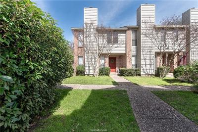 Brazos County Condo/Townhouse For Sale: 1904 Dartmouth Street #O1