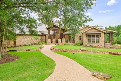 College Station Single Family Home For Sale: 11674 River Road