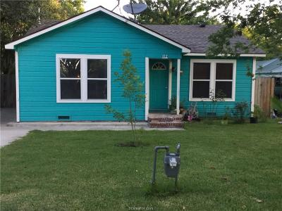 Bryan Single Family Home For Sale: 112 Edge Street