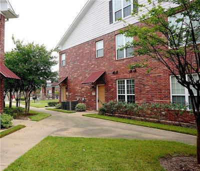 Brazos County Condo/Townhouse For Sale: 801 Luther #207