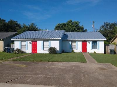 Brazos County Multi Family Home For Sale: 3304-06 Longleaf Circle