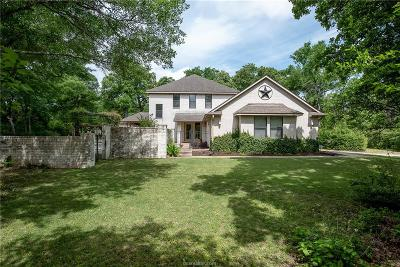 College Station Single Family Home For Sale: 2603 Faulkner Drive