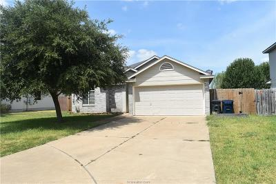 College Station Single Family Home For Sale: 3703 Springfield Drive