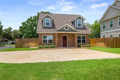 College Station Single Family Home For Sale: 1124 Detroit Street