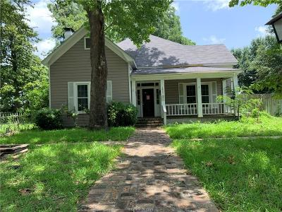Hearne Single Family Home For Sale: 1007 South Magnolia Street