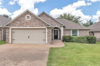 College Station Single Family Home For Sale: 4235 Rocky Rhodes Drive