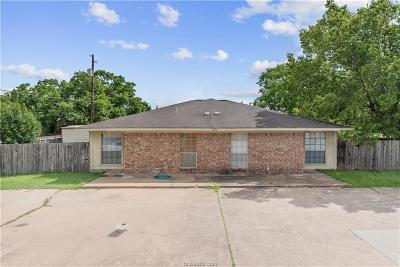 Bryan Multi Family Home For Sale: 1824 San Antonio Street #A-B