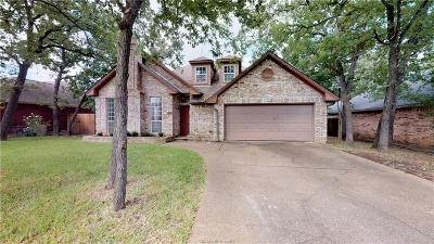 College Station Single Family Home For Sale: 2806 Rayado Court