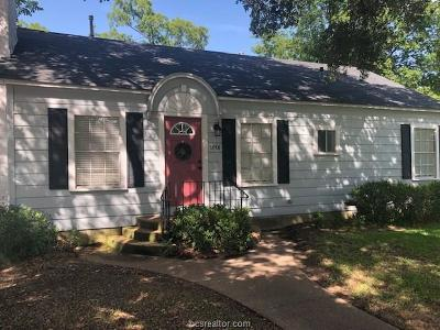 Hearne Single Family Home For Sale: 1001 Cedar Street