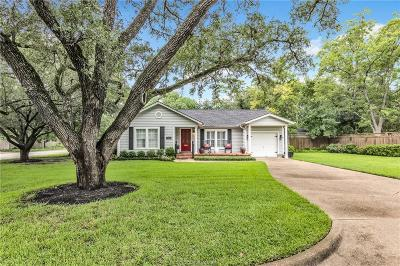 College Station Single Family Home For Sale: 306 Timber Street