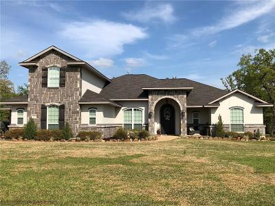 College Station Single Family Home For Sale: 18099 Ranch House