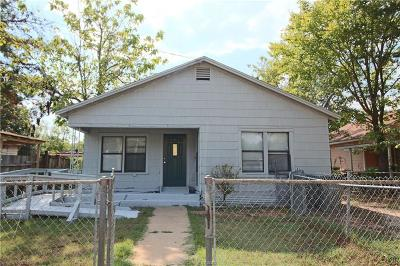Bryan Single Family Home For Sale: 806 Holt Street