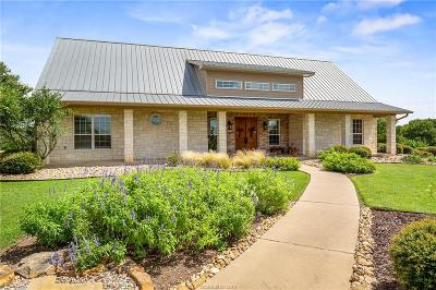Hearne Single Family Home For Sale: 8526 Silverado Trail