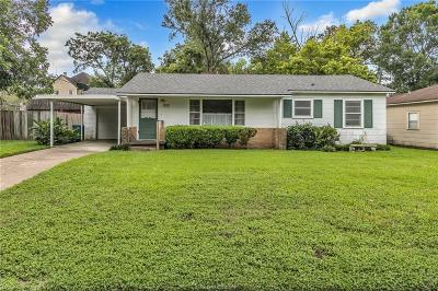 Navasota Single Family Home For Sale: 1212 Kettler St