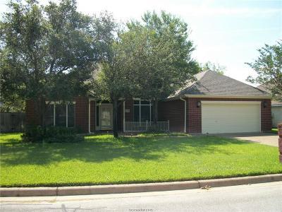 Bryan Single Family Home For Sale: 4002 Park Hurst