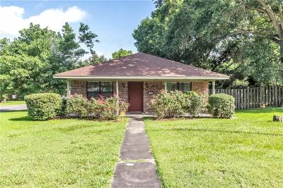 Navasota Single Family Home For Sale: 1407 Sycamore Street