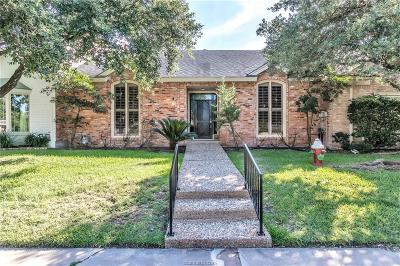 Bryan  , College Station Condo/Townhouse For Sale: 1209 Brook Hollow Drive