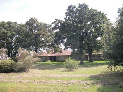 Bryan , College Station  Single Family Home For Sale: 6417 Zak Road