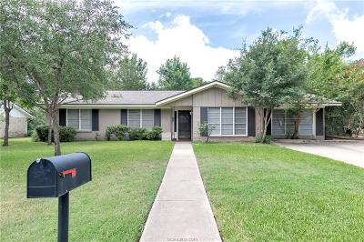 College Station Single Family Home For Sale: 706 Pershing Drive