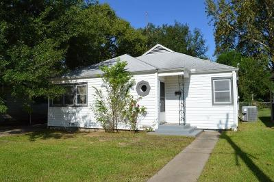 Hearne Single Family Home For Sale: 608 Barton Street