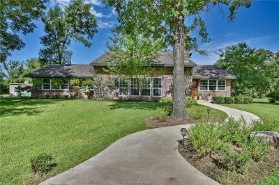 Navasota Single Family Home For Sale: 19751 Clements Lane