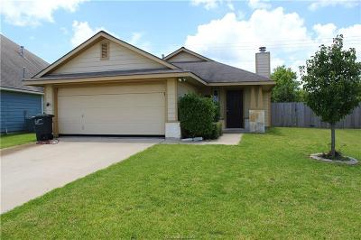 College Station TX Single Family Home For Sale: $182,000
