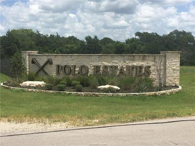 College Station Residential Lots & Land For Sale: 4245 Chukker Lane