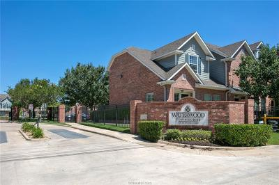 College Station TX Condo/Townhouse For Sale: $170,000