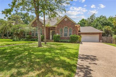 College Station Single Family Home For Sale: 803 Merion Court