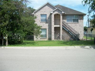 College Station Multi Family Home For Sale: 502 Cooner Street #A-B