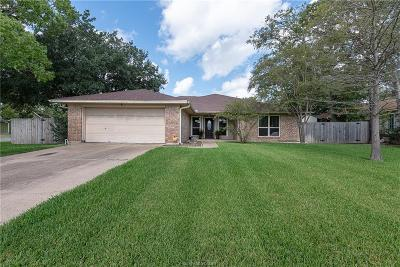 Brazos County Single Family Home For Sale: 3722 Valley Oaks Drive