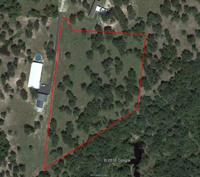 College Station, Bryan, Iola, Caldwell, Navasota, Franklin, Madisonville, North Zulch, Hearne Residential Lots & Land For Sale: 13709 Oak Drive