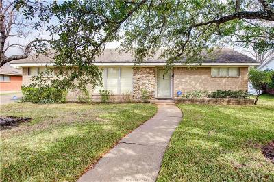 Brazos County Single Family Home For Sale: 2507 Carter Creek