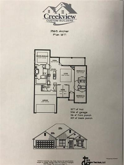 Single Family Home For Sale: 2969 Archer Drive