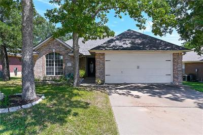 Bryan Single Family Home Contingency Contract: 2821 Brandywine Circle