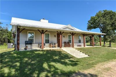 Milam County Single Family Home For Sale: (+/- 62 Acres) County Road 351