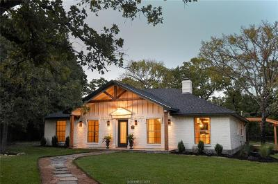College Station Single Family Home For Sale: 2416 Friar