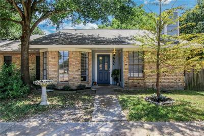 College Station Single Family Home For Sale: 600 San Benito Court