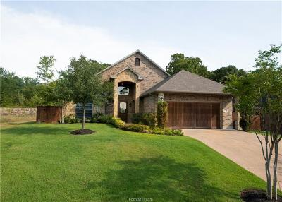 Brazos County Single Family Home For Sale: 3220 Walnut Creek Court