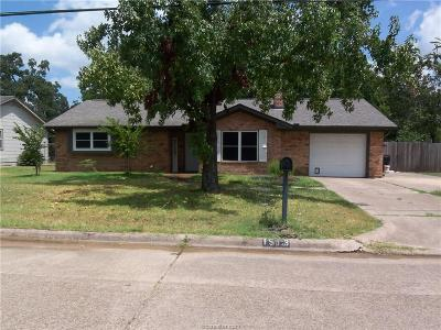 Bryan TX Single Family Home For Sale: $224,900
