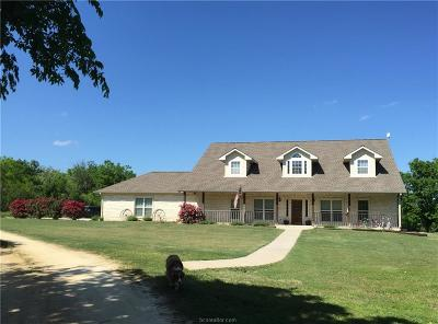 Milam County Single Family Home For Sale: 1086 County Road 462